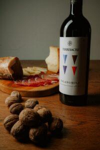 Apertura bottiglia vino