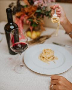 Frequenza servizio vino