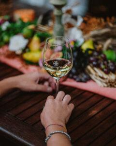 Sequenza servizio vino